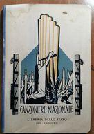 CANZONIERE NAZIONALE 1929 - Libros, Revistas, Cómics