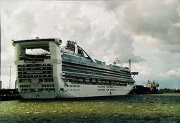 """Bateau PAQUEBOT (Ocean Liner) -   Photographie """"GOLDEN PRINCESS Hamilton"""" - Picture Fujifilm - Bateaux"""