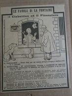- ADVERTISING PUBBLICITA'  LE FAVOLE DI FONTAINE - 1925 -  OTTIMO - Unclassified