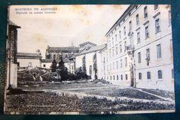 Mosteiro De Alcobaça Fachada Da Antiga Livraria - Portugal