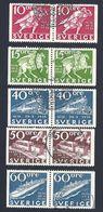 Schweden, 1972, Michel-Nr. 765-769 D/D, Gestempelt - Suède