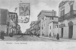 Brindisi.  Corso Garibaldi. Scan - Italie