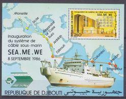 1986Djibouti474/B127Ships13,00 € - Barche