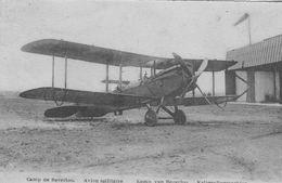 Camp De Beverloo.  Avion Militaire Kamp Van Beverloo Krigsliegmachien.  Scan - Avions