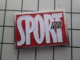 316c Pin's Pins / Beau Et Rare / THEME : MEDIAS / SPORT PLUS - Mass Media