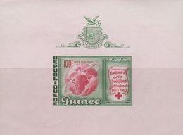 Guinea Sc C51 1963 Red Cross, Miniature Sheet, Mint Never Hinged - Guinea (1958-...)