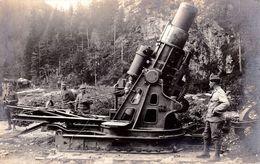 UN CANON LOURD / A HEAVY CANNON - AUSTRAIN - HUNGARIAN MILITARY PHOTOGRAPH - WW I / AUSTRIA & HUNGARY - RRR ! (af060) - Guerre 1914-18