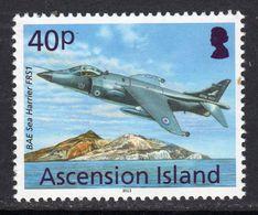 Ascension 2013 Aircaft Definitives 40p Sea Harrier, MNH, SG 1154 (B) - Ascension (Ile De L')
