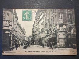 Paris - CPA - Rue St Denis - Fontaine De La Reine - Commerces Et Belle Animation - F.F , Paris N° 651 Bis - - Arrondissement: 10