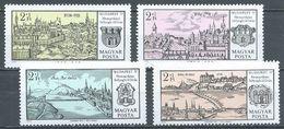 Hongrie YT N°2144/2147 Exposition Philatélique Budapest 71 Neuf ** - Ungarn