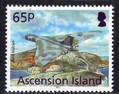 Ascension 2013 Aircaft Definitives 65p Vulcan, MNH, SG 1157 (B) - Ascension (Ile De L')