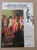 - ADVERTISING PUBBLICITA'  INTIMO MANIFATTURA MARTA - 1975 -  OTTIMO - Unclassified