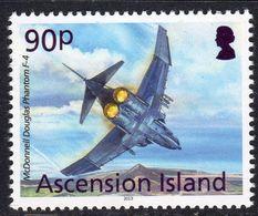 Ascension 2013 Aircaft Definitives 90p Phantom F-4, MNH, SG 1158 (B) - Ascension (Ile De L')