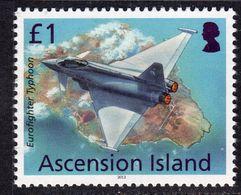 Ascension 2013 Aircaft Definitives £1 Typhoon, MNH, SG 1159 (B) - Ascension (Ile De L')
