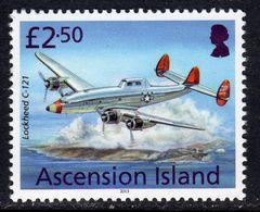 Ascension 2013 Aircaft Definitives £2.50 Lockheed C-121, MNH, SG 1160 (B) - Ascension (Ile De L')