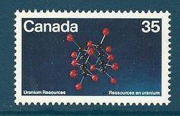 Canada - 1980 Minerals, Uranium MNH** - Lot. 4958 - Minerali