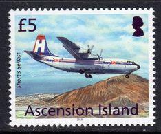 Ascension 2013 Aircaft Definitives £5 Shorts Belfast, MNH, SG 1161 (B) - Ascension (Ile De L')