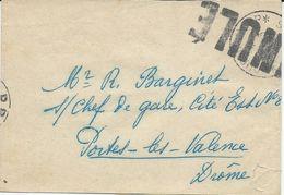 BANDE POUR JOURNAL 1950 AVEC GRIFFE ANNULE SUR CACHET DE PORT PAYE JOURNAUX - Marcophilie (Lettres)