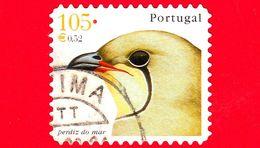 PORTOGALLO - Usato - 2001 - Teste Di Uccelli - Pernice Di Mare - Glareola Pratincola - Perdiz Do Mar - 105 - 0.52 - Oblitérés