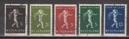 NVPH Nederland Netherlands Pays Bas 327 328 329 330 331 Used Kinderzegels Children Stamps Timbres D'enfants 1939 - Usati