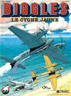 BIGGLES 1 Le Cygne Jaunes EO BE Lefrancq 05/1990 Bergèse (BI4) - Biggles