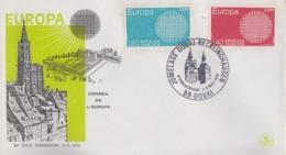 Enveloppe   FRANCE   Jumelage   DOUAI  -  RECKLINGHAUSEN   1970 - Marcophilie (Lettres)