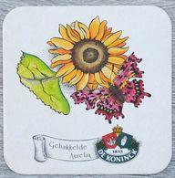 Sous-bock DE KONINCK Gehakkelde Aurelia (papillon, Fleur) Bierdeckel Bierviltje Coaster (CX) - Portavasos