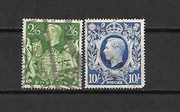 1942 - GRAN BRETAGNA - N. 233/34 USATI (CATALOGO UNIFICATO) - 1902-1951 (Re)