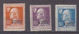 PGL BZ056 - COLONIE ITALIANE SOMALIA SASSONE N°109/11 ** - Somalie