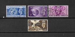 1948 - GRAN BRETAGNA - N. 241/44 USATI (CATALOGO UNIFICATO) - 1902-1951 (Re)