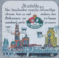 Sous-bock DE KONINCK De Schelde Bierdeckel Bierviltje Coaster (CX) - Portavasos