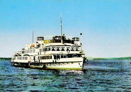 "RUSE / ROUSSÉ / ROUSTCHOUK : BATEAU Sur DANUBE / PASSENGER SHIP "" AL. STAMBOLIÏSKI / STAMBOLIJSKI "" - 1960 - '65 (af061) - Bulgarie"