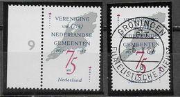 Nederland - 1987 - Yv.1296 - Mi .1326 - **  En  O -  Vereniging Van Nederlandse Gemeenten. - Periodo 1980 - ... (Beatrix)