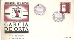 Portugal & FDC Simple Colloquies, Garcia De Horta, Porto 1963 (6888) - Timbres