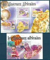 Central African Republic - 2011 Minerals MNH** - Lot. A374 - Minerali