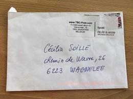 2 Envois TBC Post : Une Lettre Passée Via Les Boites BPost Et Envoi Insuffisamment Affranchi, L'autre Avec Vignette - Privatpost