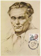 MAXIMUM CARD YUGOSLAVIA 1988,Josip Broz Tito - Maximum Cards