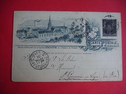 1901 Carte Illustrateur Benedictine Fecamp - Fécamp