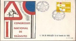 Portugal & FDC World Transit Congress, Porto 1965 (6888) - Timbres