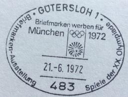 XX OLIMPIADE - MÜNCHEN 1972  -  ANNULLO OLIMPICO GÜTERSLOH 1 - Summer 1972: Munich