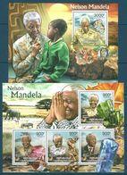 Central African Republic - 2012 Minerals, Nelson Mandela MNH** - Lot. A375 - Minerali