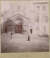 Vue D'Arles (Bouches-du-Rhône). Tirage Citrate Circa 1900-1910. - Orte