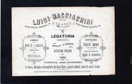 CG - Luigi Macciachini - Varese - Legatoria, Libreria E Cartoleria - Italia