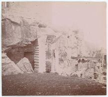 Les Baux-de-Provence (Bouches-du-Rhône). Tirage Citrate Circa 1900-1910. - Orte