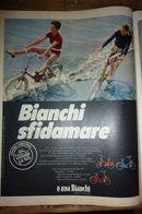 - ADVERTISING PUBBLICITA' BICICLETTE BIANCHI  - 1969 -  OTTIMO - Unclassified