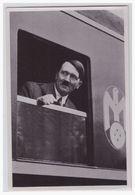"""DT- Reich (000577) Propaganda Sammelbild Adolf Hitler"""""""" Bild 9, Auf Reisen - Germania"""