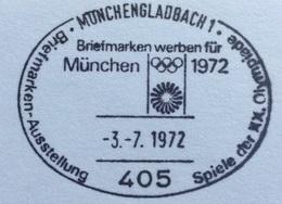 XX OLIMPIADE - MÜNCHEN 1972  -  ANNULLO OLIMPICO  MÖNCHENGLADBACH 1 - Summer 1972: Munich