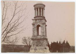 Saint-Rémy-de-Provence (Bouches-du-Rhône). Mausolée De Glanum. Tirage Citrate Circa 1900-1910. - Orte