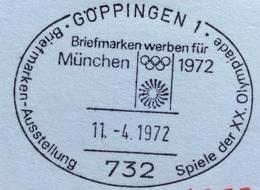 XX OLIMPIADE - MÜNCHEN 1972  -  ANNULLO OLIMPICO  GÖPPINGEN 1 - Summer 1972: Munich