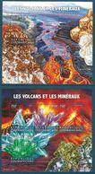 Central African Republic - 2015 Minerals, Volcano MNH** - Lot. A378 - Minerali